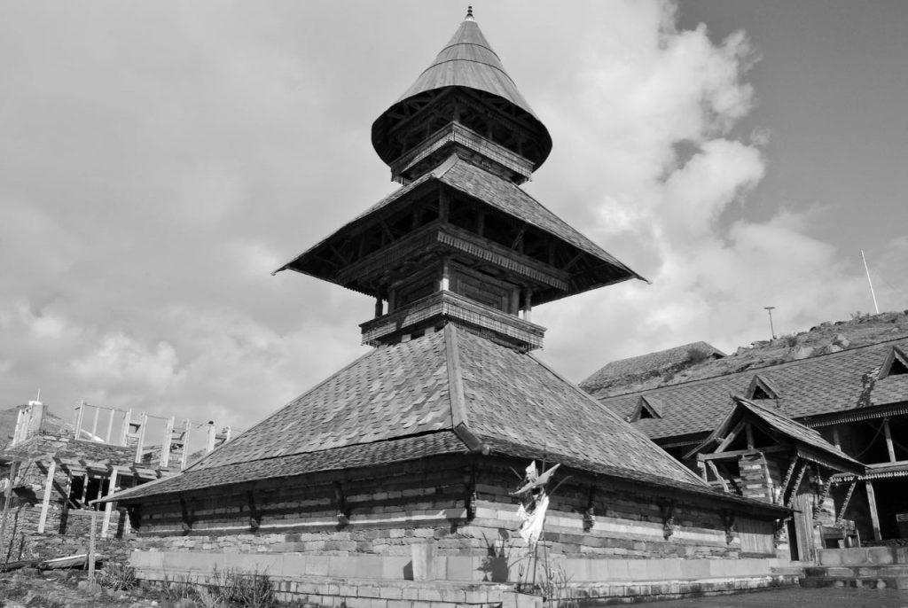 Pagoda Style Prashar Rishi Temple