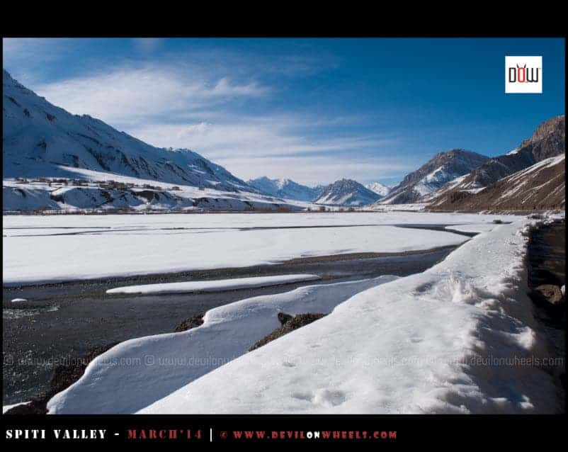 Spiti Valley in Winters - Those Frozen Moments from Spiti River