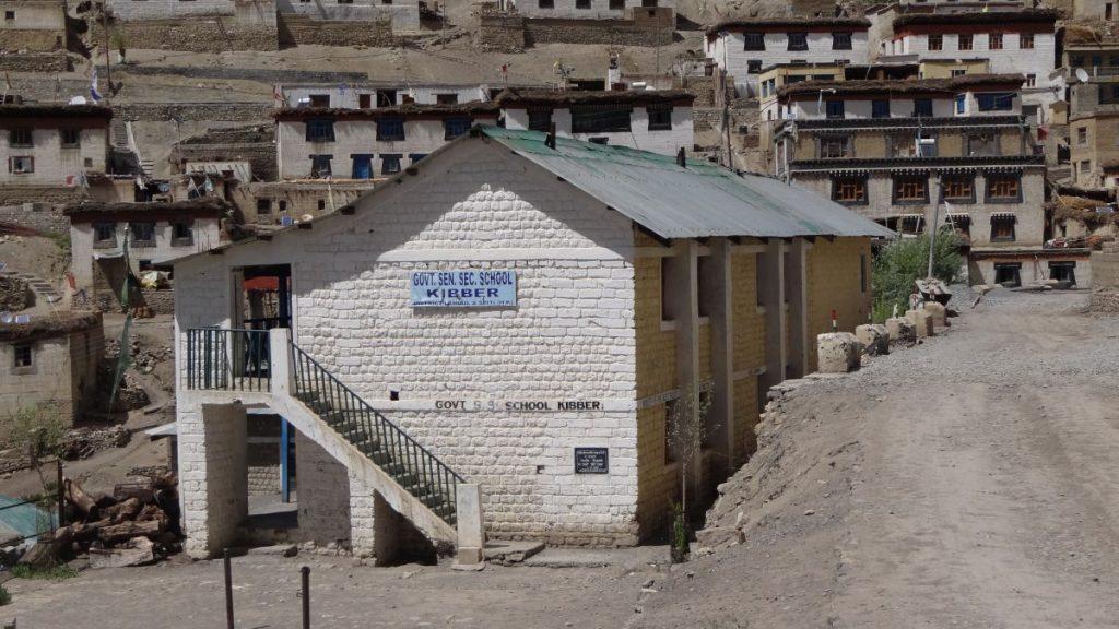 Kibber Village school Spiti valley