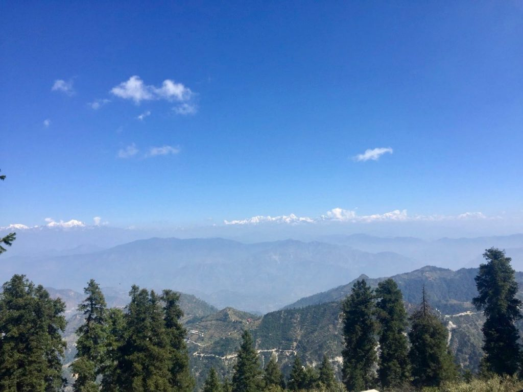 View from Surkanda Devi Temple
