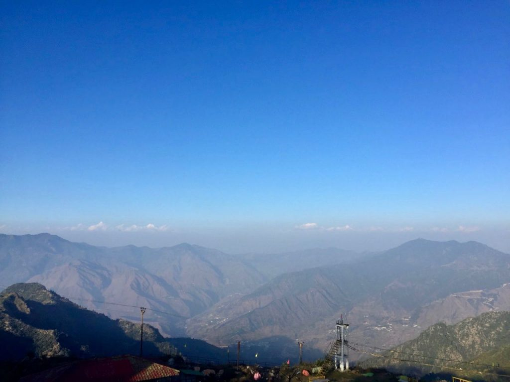 View from Surkanda Devi Temple near Mussoorie