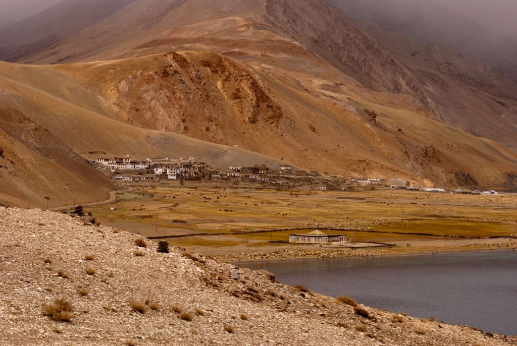 A small village in Ladakh - Korzok