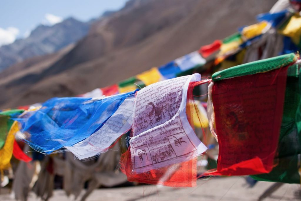 Prayer Flags in Ladakh - Spreading Prayers