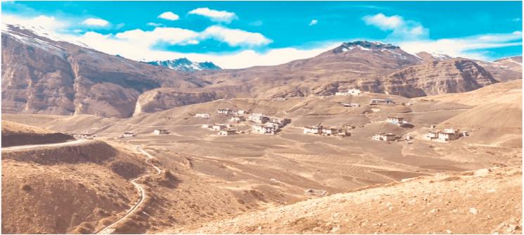 High villages of Spiti on Homestay Trek Tour