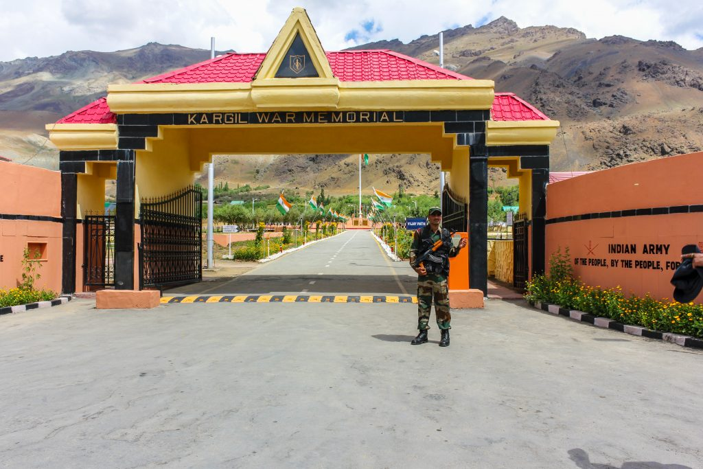Kargil War Memorial at Drass
