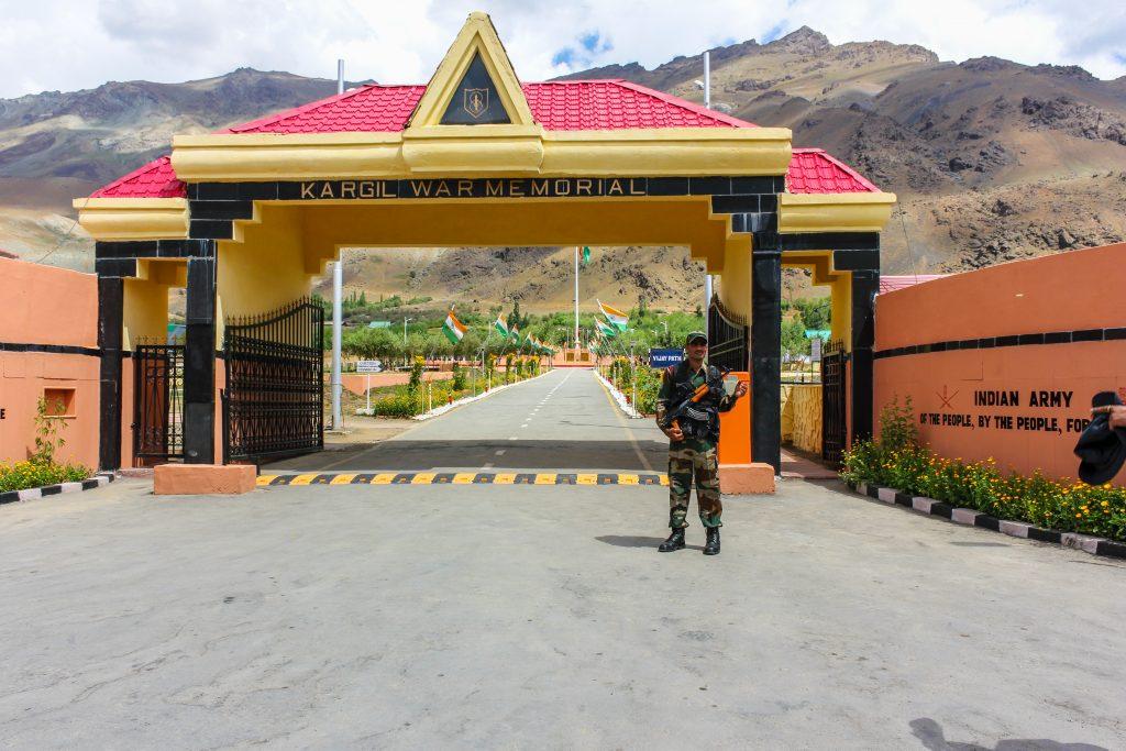 Kargil War Memorial at Drass