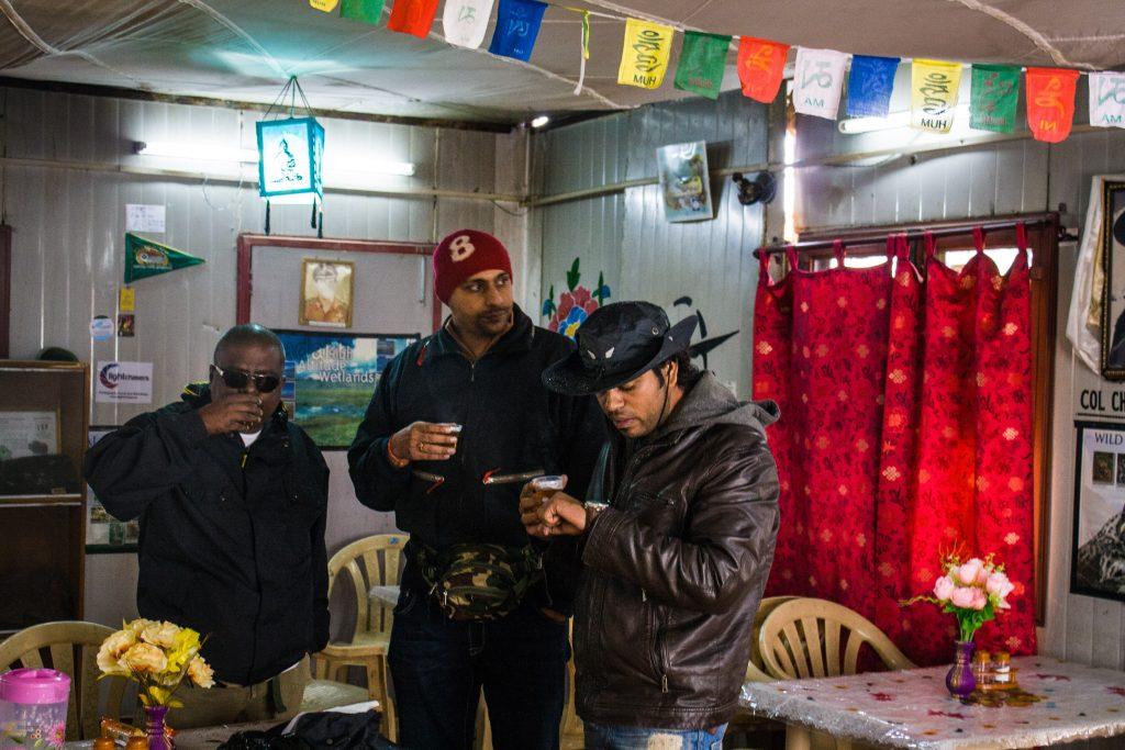 Black Tea at KhardungLa Cafe