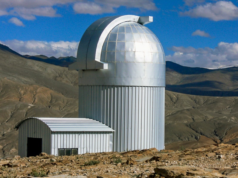 Observatory at Hanle