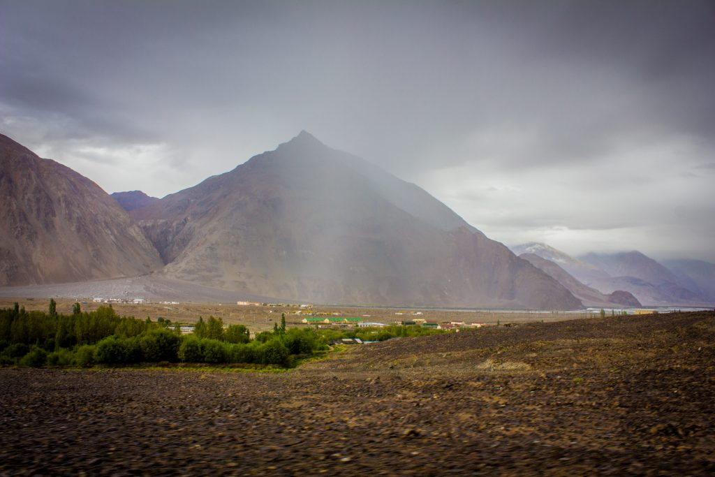 How it Rains in Nubra