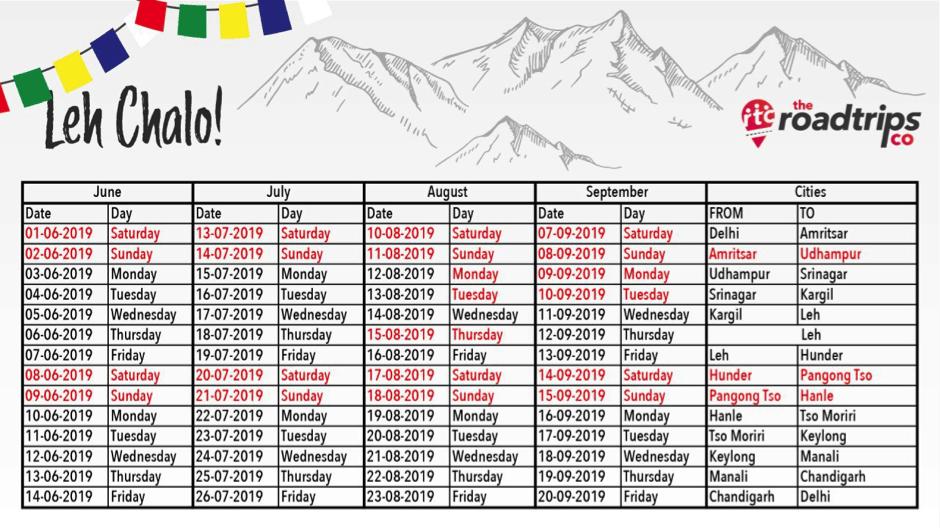 Leh Chalo - 2019 Ladakh Self Drive Trips