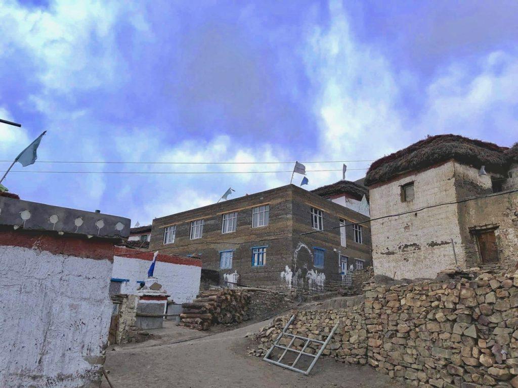 Houses in Hikkim Village