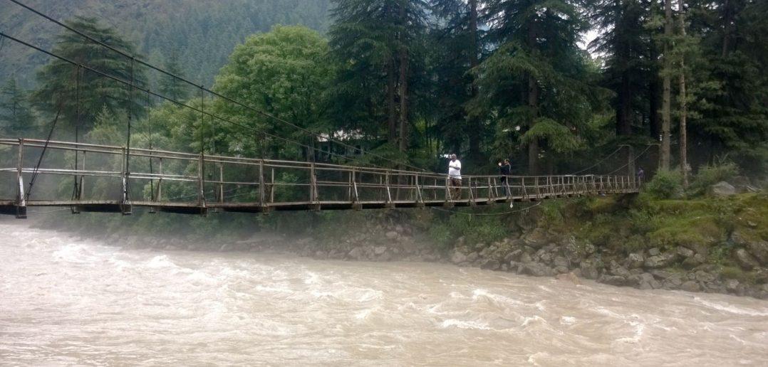 Bridge leading to Chalal Village