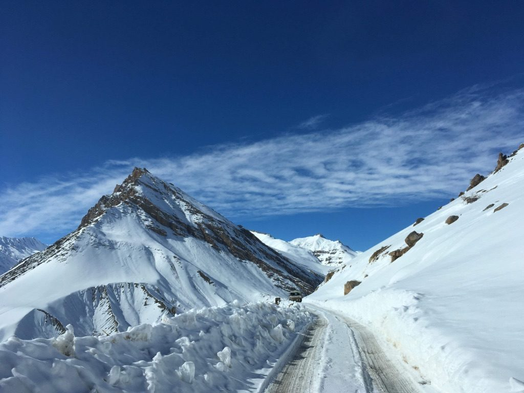 Frozen Key Monastery Route in Spiti Valley
