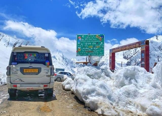 Kunzum Pass Top - Manali - Kaza Road Status 2019 - 2020