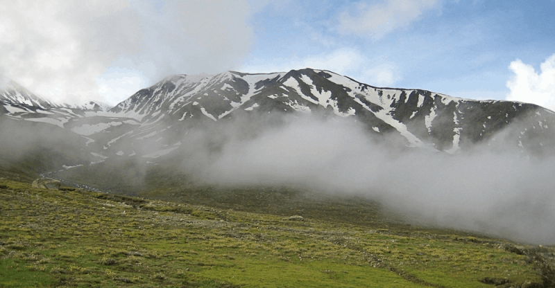 Clouds in the Spiti Valley