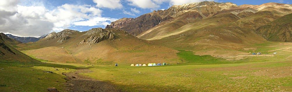 The vast expanse of Spiti