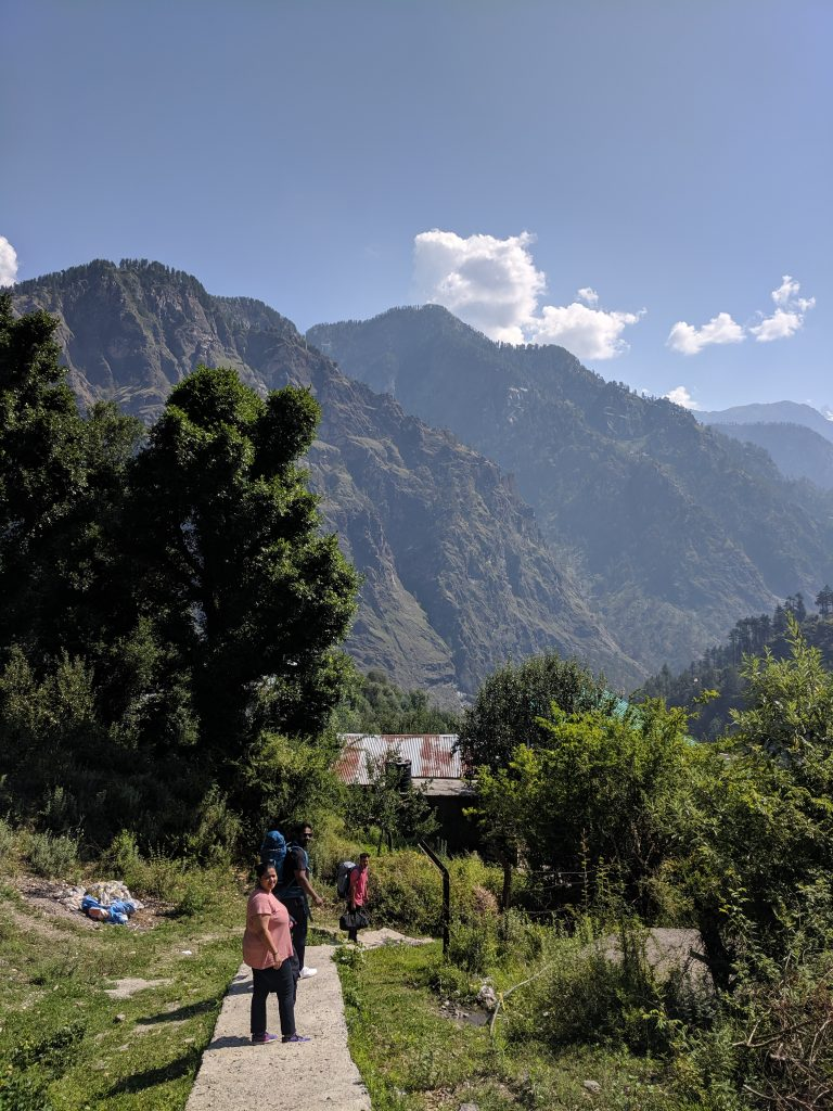 Little hamlets require you to climb up mountains - happiness in Parvati Valley
