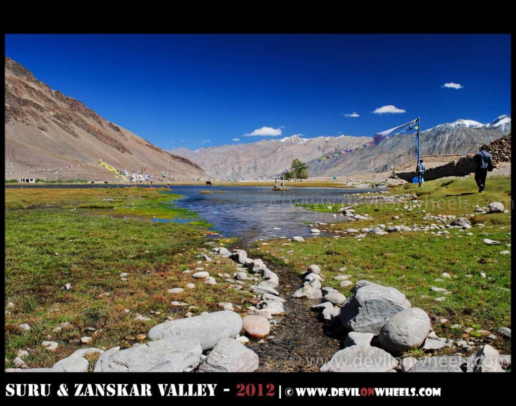Sani Lake near Sani Monastery - Picnic place to visit near Padum