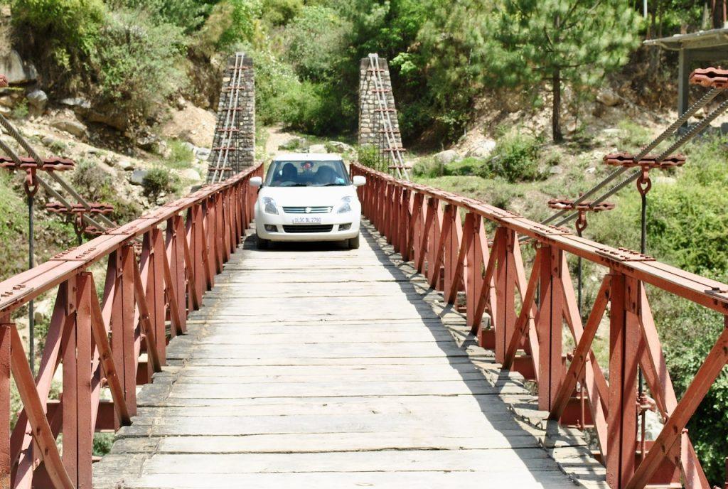 Crossing such delicate bridges near GHNP