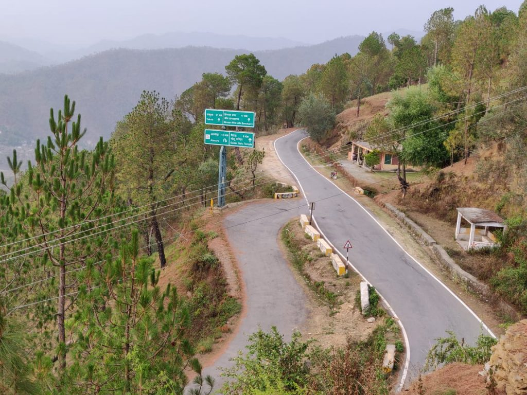Road conditions in Kumaon