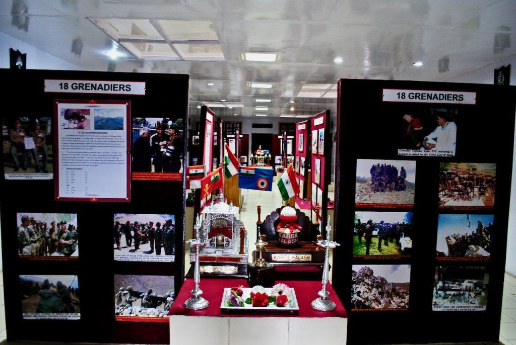Inside the Kargil War Memorial