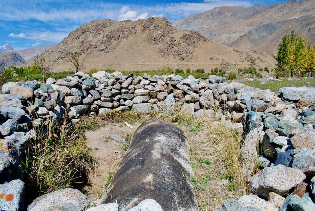 Bhimbatt Rock near Kargil - Drass