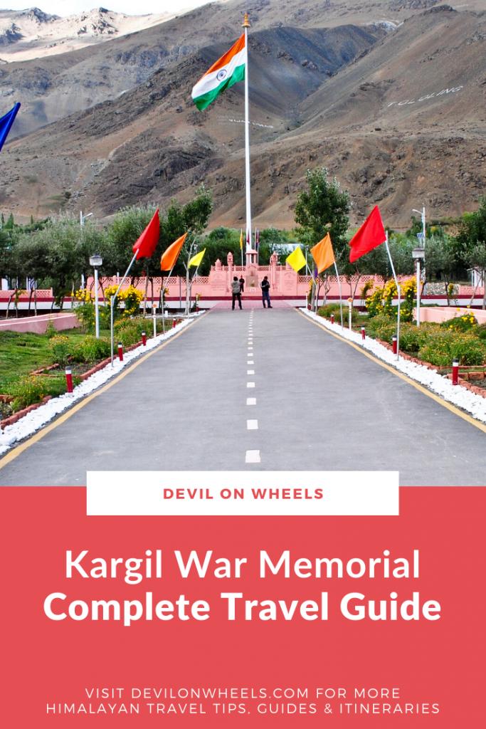 Planning a trip to Kargil War Memorial?