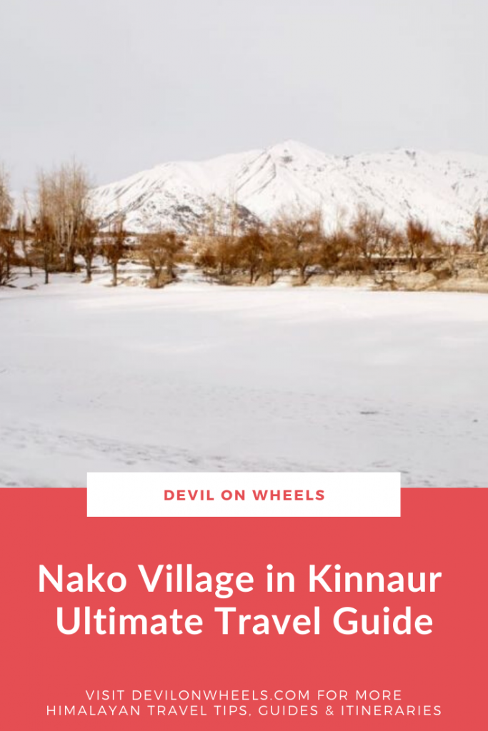 A Detailed Nako Village Travel Guide