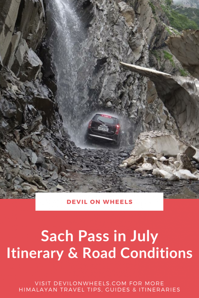 Trip to Sach Pass in July