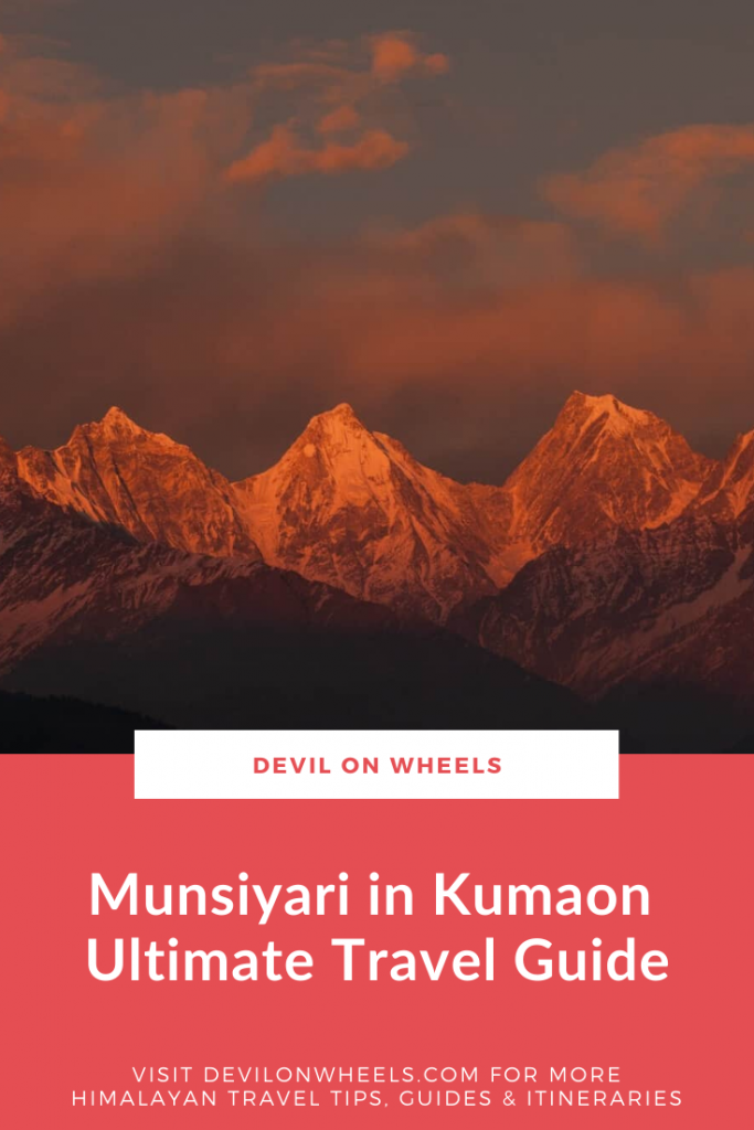 The Ultimate Munsiyari Travel Guide