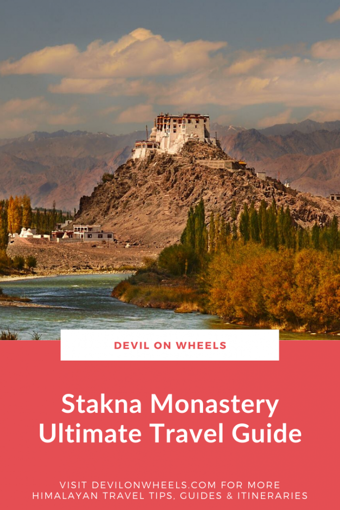 An ultimate travel guide of Stakna Monastery near Leh