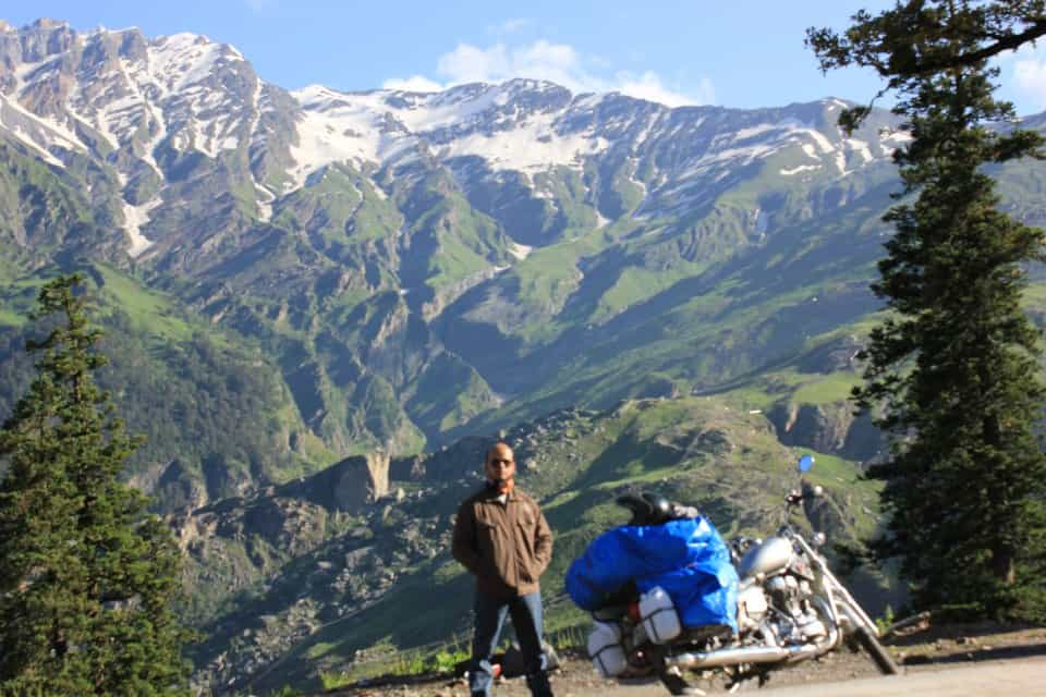 On my way to Rohtang