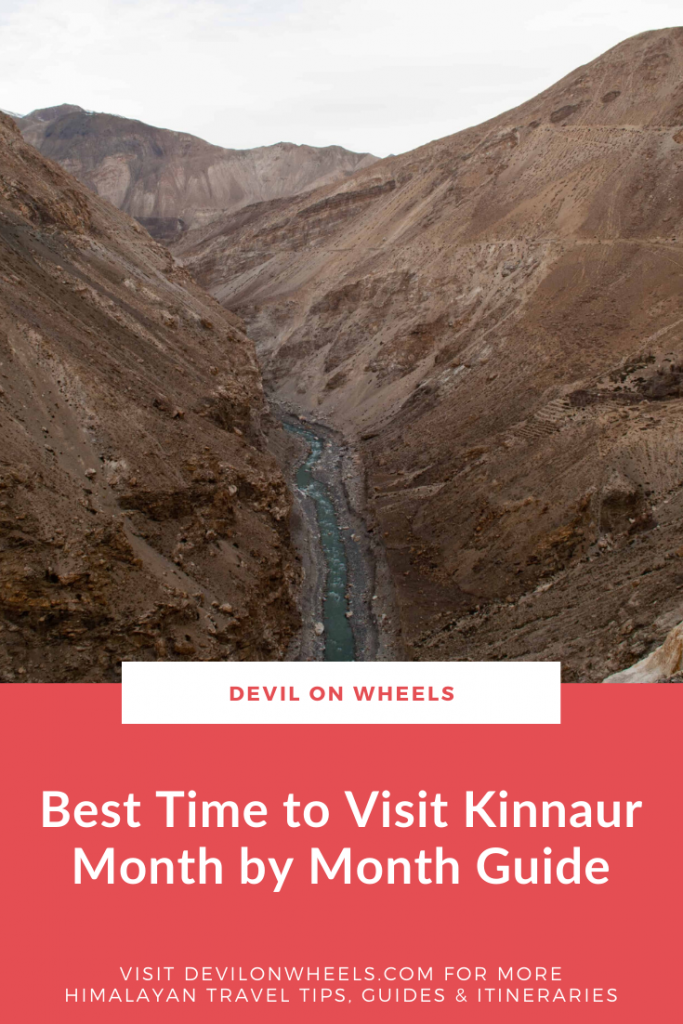 Best time to visit Kinnaur Valley