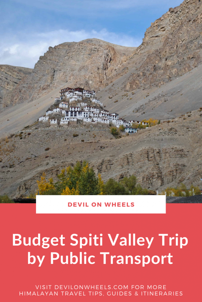 Planning to travel Spiti Valley using public transport?