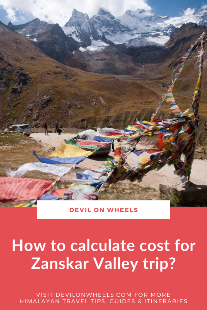 Let's learn about how to calculate the budget of the Zanskar trip?