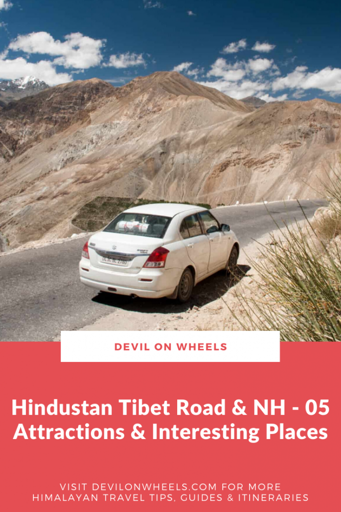 Interesting Places on NH-05 or Hindustan Tibet Highway