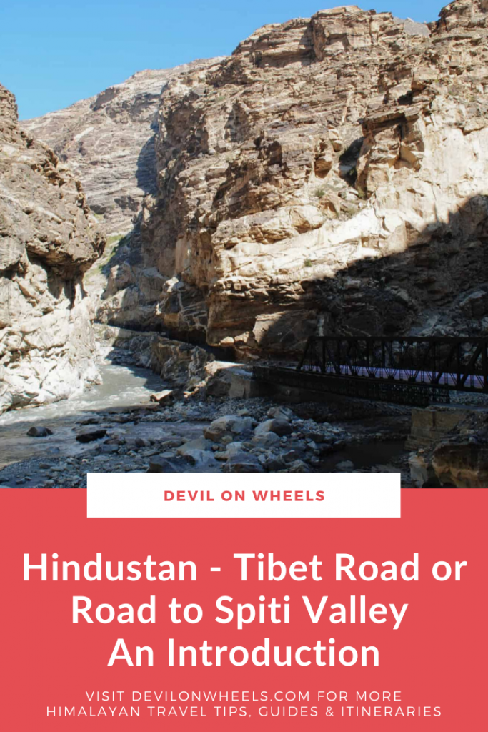 An introduction to Road to Spiti Valley
