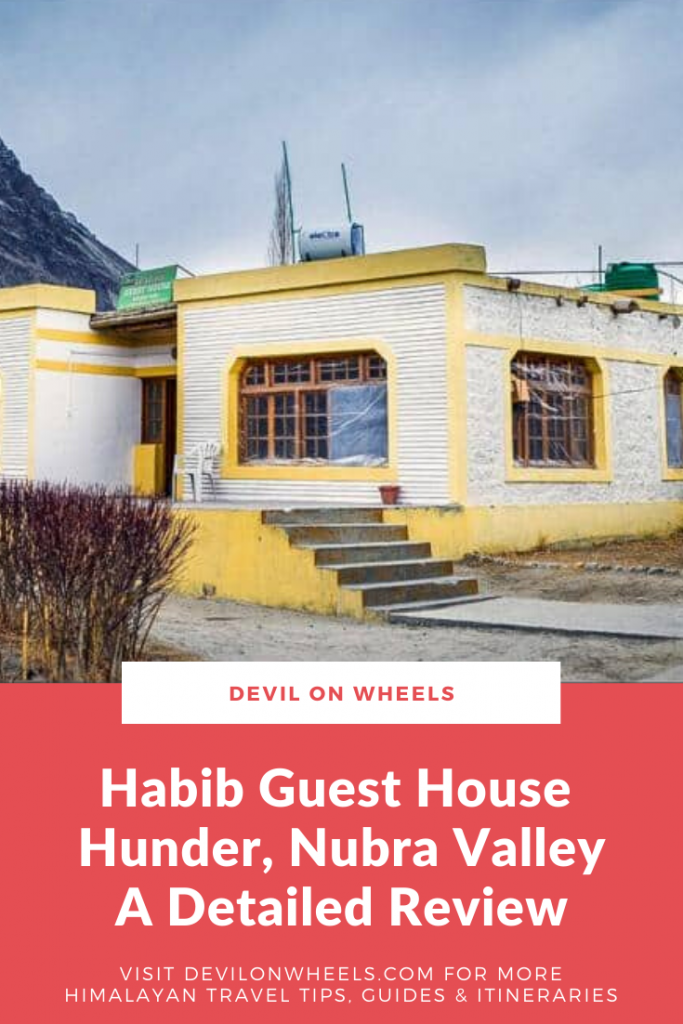 Habib Guest House in Nubra Valley - Detailed Review