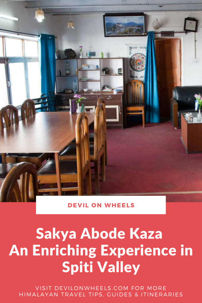A detailed review of Sakya Abode and Kumphen