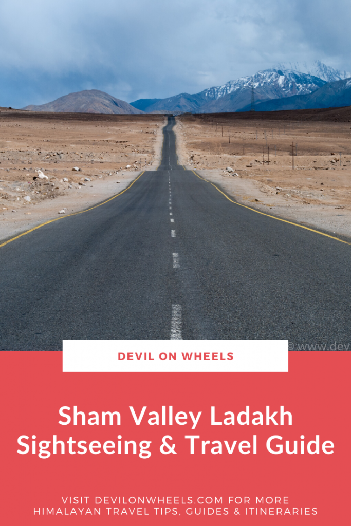 An ultimate travel guide of Sham Valley near Leh