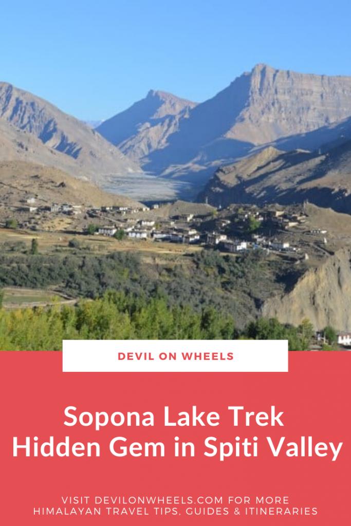 A trek to Sopona Lake near Mane Villages