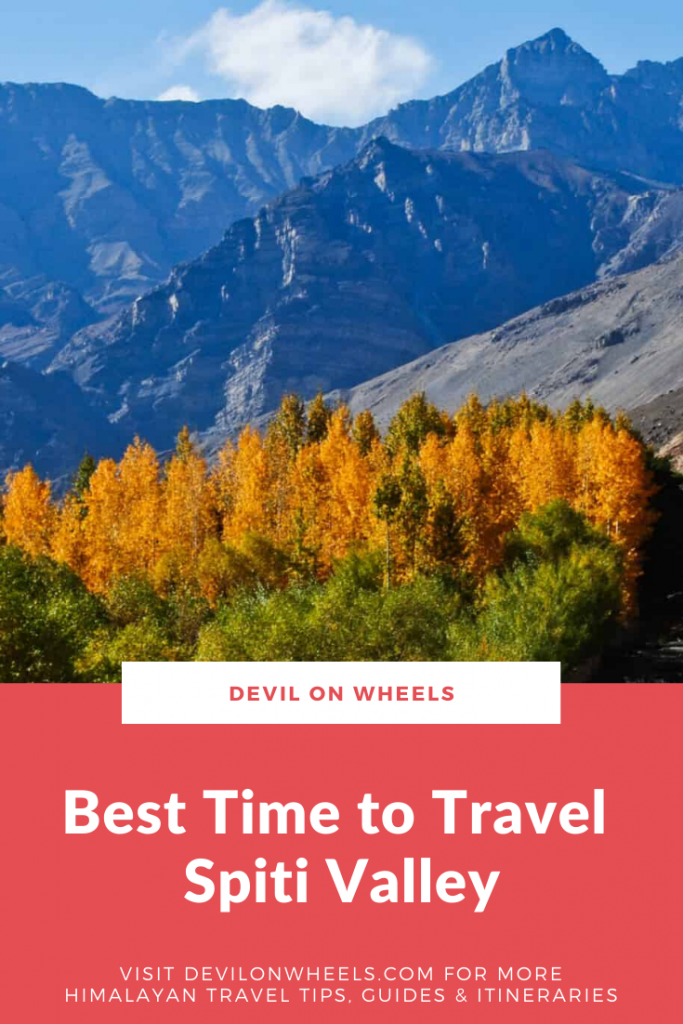 What is the best time to visit Spiti Valley?
