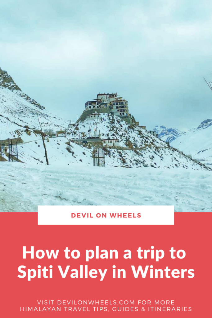Planning a Winter Spiti Drive?