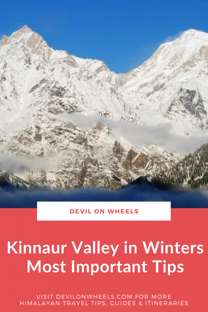 Are you traveling to Kinnaur in Winter?