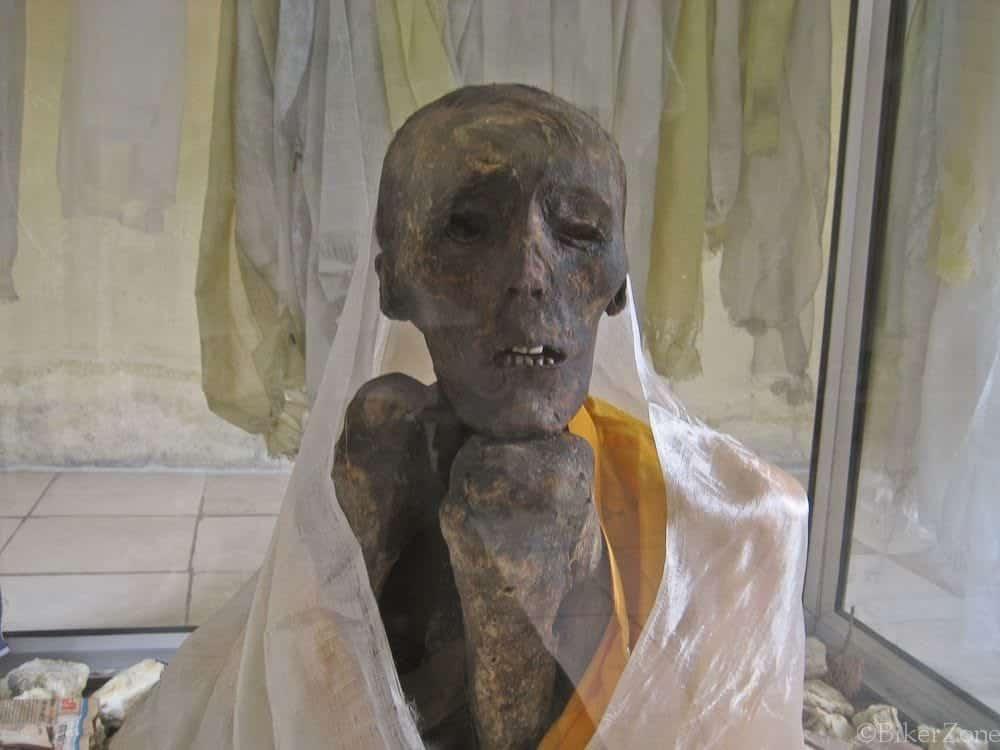 Giu Mummy - A Close up view