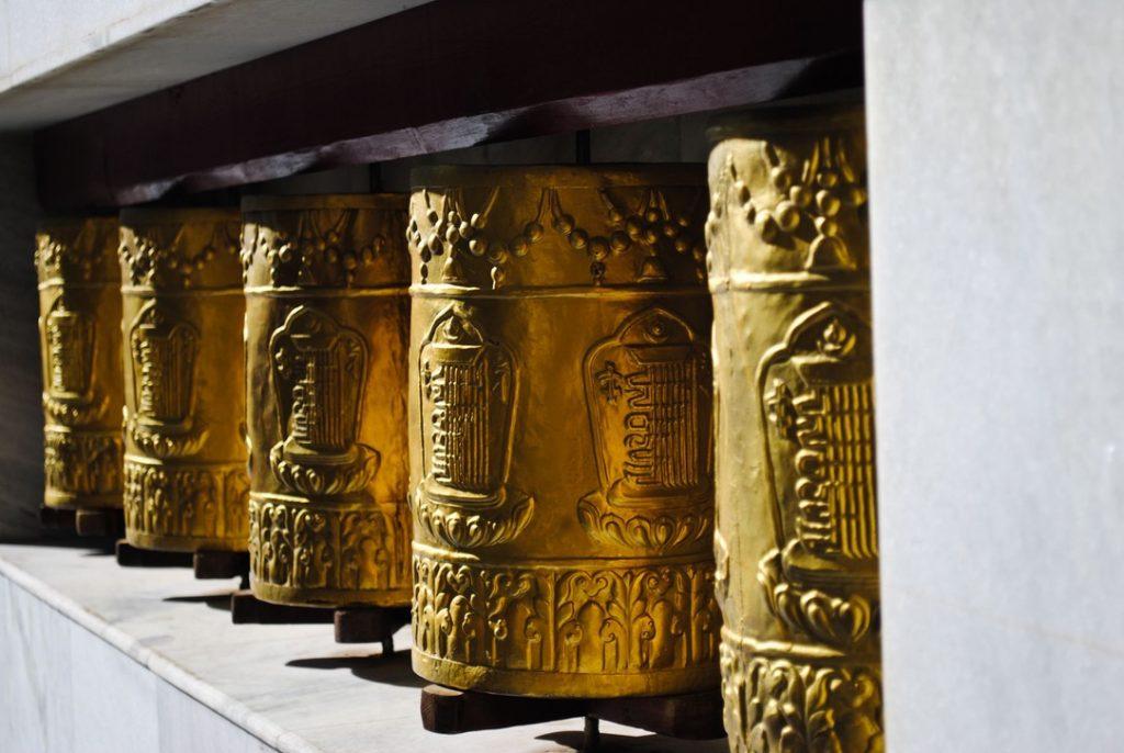 Prayer Wheels at Tabo Monastery