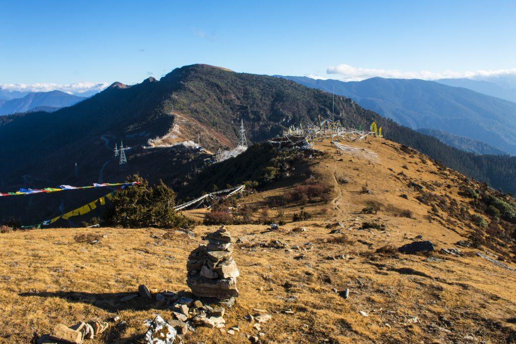 Chele La in Bhutan