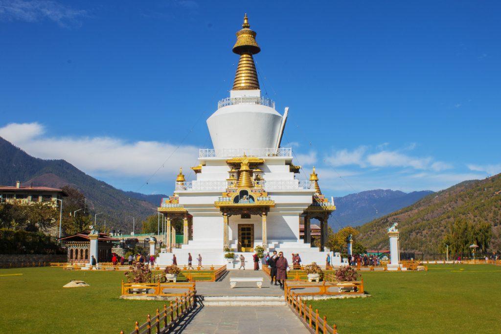 Memorial Chorten in Bhutan