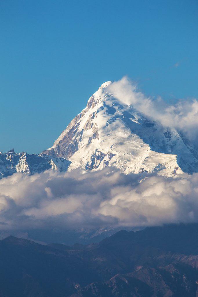 Mount Jomolhari in Bhutan
