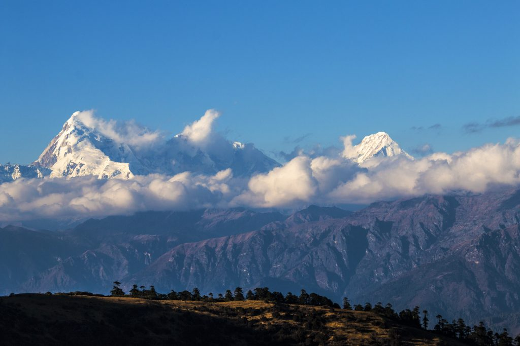 Mount Jomolhari in Bhutan